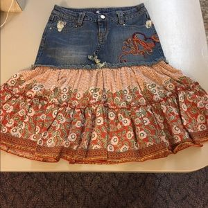 Candie's Jean Skirt 5